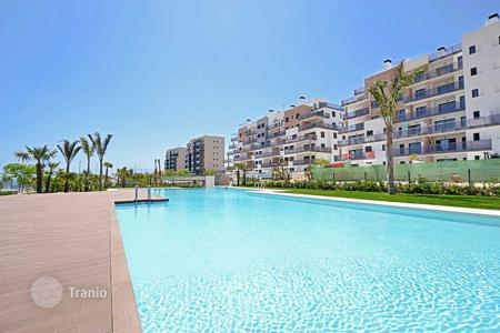 Coastal apartments for sale in Mil Palmeras. Modern design apartments very close to the beach in Mil Palmeras