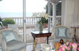 Luxury 4 bedroom houses for sale in Cap d'Ail. Cap d'Ail villa with a panoramic sea view