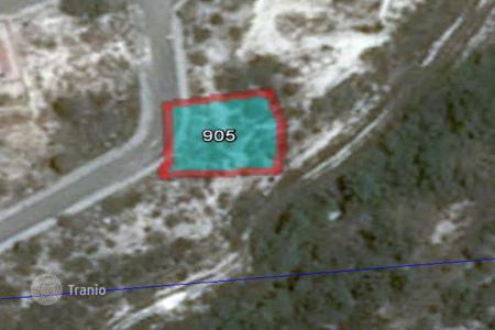 Cheap land for sale in Paphos. 670 m² plot in Tala with sea view