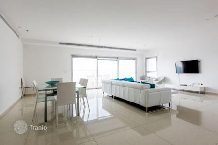 Luxury new homes for sale in Israel. Three bedroom apartment with a terrace and overlooking the sea in Netanya, Israel