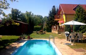 Houses with pools for sale in Lake Balaton. Two-level house with a pool and a garden near Lake Balaton, Hungary