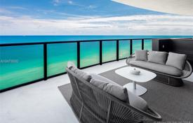 Luxury furnished apartment with a swimming pool, a terrace, a garage and a ocean view, Sunny Isles Beach, USA for $5,900,000