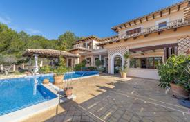 Luxury furnished villa with a panoramic sea view, a pool and a parking in a quiet area, close to the coast, Costa de la Calma, Spain for 3,800,000 €