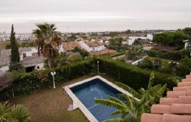 5 bedroom houses for sale in Sitges. Three-level villa with a pool and a garden in Sitges, Spain