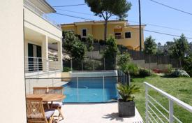 Houses for sale in Cala Vinyes. Spacious villa with a private garden, a swimming pool, a guest apartment and a garage, Cala Vinyas, Spain