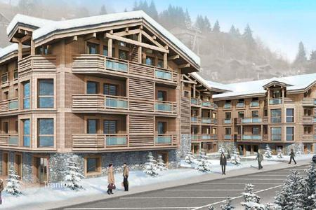 Apartments for sale in Les Gets. Modern apartment in 150 m from the ski lift in a new residential complex in the heart of Les Gets, French Alps, France