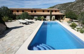 Houses with pools for sale in Castell de Castells. Villa – Castell de Castells, Valencia, Spain