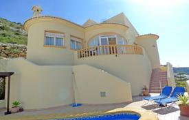 Cheap houses with pools for sale in Southern Europe. Villa – Jalón, Valencia, Spain