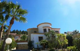 4 bedroom houses for sale in Benitachell. 4 bedroom villa with private pool, 900 m² plot with panoramic views, summer kitchen with BBQ in Benitachell