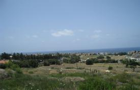 4 Elevated Plots Overlooking the Sea in Chlorakas for 260,000 €