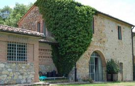Luxury houses for sale in Siena. Ancient villa with a swimming pool in San Casciano dei Bagni, Tuscany, Italy