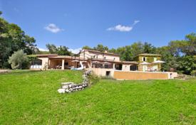 Luxury houses for sale in Valbonne. Villa in a Provencal style with a pool and a court for pétanque game, Valbonne, France