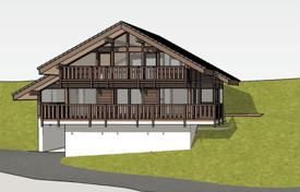 New chalet with large windows and a fireplace, next to the ski lifts and slopes, Chatel, France for 700,000 €
