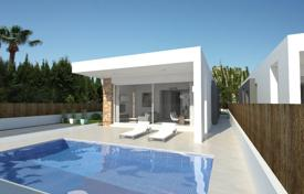 Off-plan houses for sale in Spain. New villa with a private pool, a solarium and a parking, La Siesta, Spain