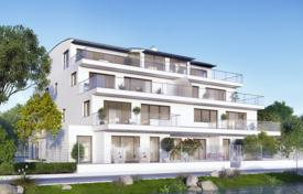 New homes for sale in Vienna. Stylish apartment with a terrace and a garden, in a new residential complex overlooking the Old Danube, Vienna, Austria