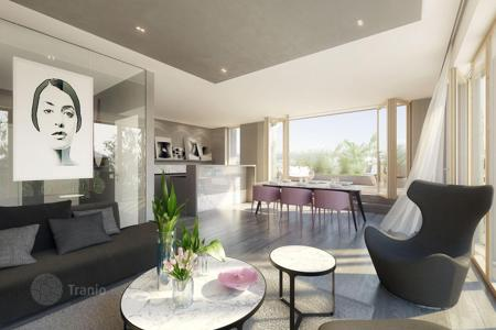 New homes for sale in Prague. One-bedroom apartment with a terrace and a garden, in a modern eco-friendly residence, in the district of Prague 10 — Vršovice, Prague