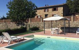 Stone villa with a large plot and a pool, Monteverdi Marittimo, Tuscany, Italy for 645,000 €