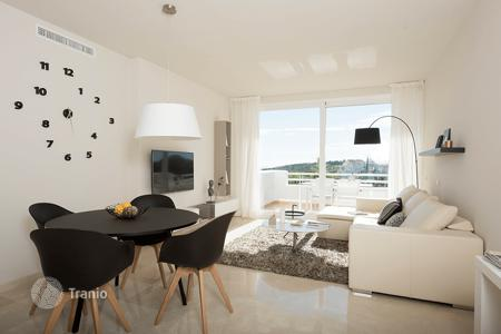 Apartments with pools for sale in Casares. Apartments and lofts in Casares, Spain. New residential complex with three swimming pools and exotic gardens