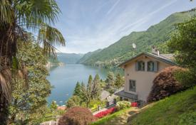 Luxury 2 bedroom houses for sale in Italy. Cozy villa on the bank of Lake Como with a garden and a panoramic view of the lake, in Fagetto Lario, Lombardy