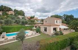 Houses with pools for sale in Grasse. Cannes backcountry — Panoramic view