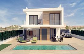 Houses for sale in Spain. Modern villas with pool and solarium in San Miguel de Salinas