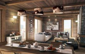 3 bedroom apartments for sale in Auvergne-Rhône-Alpes. Modern apartment with a terrace, a balcony and a parking space, in the ski resort of Meribel, Savoie, France