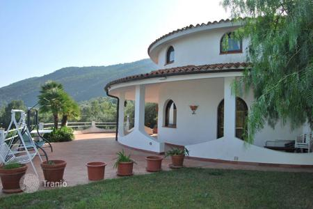 Luxury houses with pools for sale in Liguria. Luxury villa with olive grove in Andorra, Italy