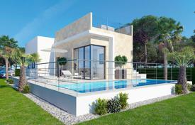 3 bedroom houses for sale in Valencia. Villas with private pool and sea views in Balcon de Finestrat