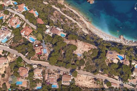 Development land for sale in Europe. Plot of land on the sea front at an attractive price, Javea, Costa Blanca