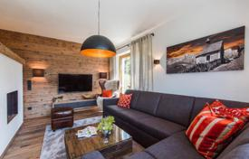 "Apartments for sale in Salzburg. Duplex ""turnkey"" apartment in a newly built tourist complex in the Austrian Alps, Zell am See, Kaprun"