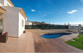 Houses with pools for sale in El Campello. New villa with a pool and a garden in El Campello, Alicante, Spain