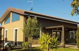 Residential for sale in Sicily. Modern villa with a fireplace and a large garden in Mascalucia, Sicily, Italy