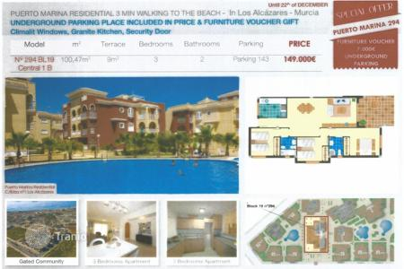 Cheap apartments for sale in Los Alcazares. Apartment – Los Alcazares, Murcia, Spain