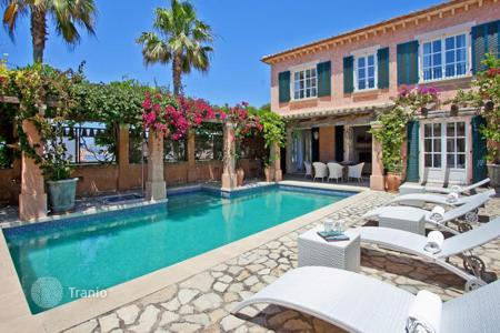 Luxury residential for sale in Balearic Islands. Mediterranean villa with guest house and privacy in Port Andratx, Mallorca, Spain
