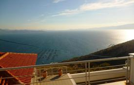 Houses for sale in Trikala. Cosy villa with panoramic views of the sea on the island of Evia