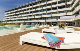Apartments with pools by the sea for sale in Balearic Islands. Apartments for sale in a new building on the island of Ibiza
