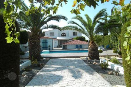 Coastal houses for sale in Cyprus. Designer villa with pool in a quiet location, near St. George 's Church, Paphos