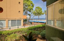 1 bedroom apartments for sale in Magaluf. One-bedroom apartment with a terrace and a sea view in a complex with a parking and a direct access to the beach, Magalluf, Spain