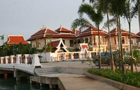 Luxury property for sale in Thailand. House in the village in Pattaya which has a private dock for yachts