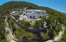 Two-storey villa with a private plot, a swimming pool and a forest view, Ibiza, Spain for 6,500,000 €