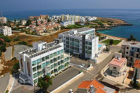1 bedroom apartments for sale in Protaras. One Bedroom Beach Front Apartment with Communal Pool