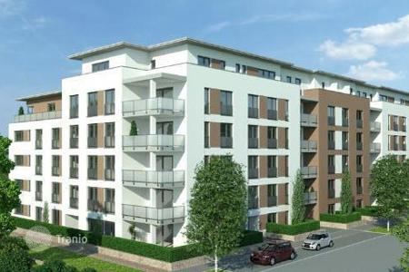 New homes for sale in Black Forest (Schwarzwald). Modern 4-room apartment with views of the River Dreisam in Freiberg
