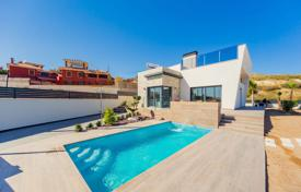 Houses for sale in Finestrat. New villa with a pool and a garden in Finestrat, Costa Blanca, Spain