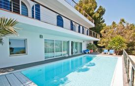 Property for sale in Canyamel. Modern villa with a pool, terraces, SPA-complex and a sea view, Canyamel, Mallorca, Spain
