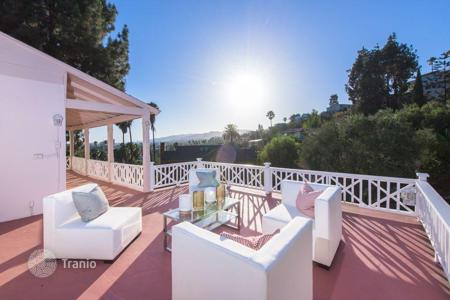 Luxury residential for sale in North America. Villa with panoramic Hollywood view, Los Angeles, USA