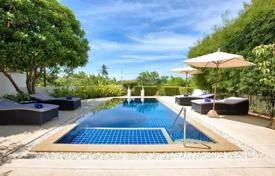 4 bedroom villas and houses by the sea to rent in Surat Thani. Tropical Garden Pull Villa