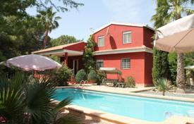 4 bedroom houses for sale in Murcia. Villa with a garden and a private pool, Fortuna, Spain
