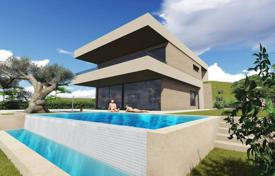 Luxury 5 bedroom houses for sale in Teià. Designer villa with an elevator, a pool and a garden, in a secure residence with a tennis court, in a prestigious area, Teia, Spain