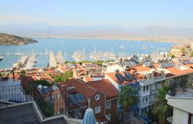 5-bedroom sea-view apartment in the center of Fethiye (Karagözler district), 150 meters from the sea, with large balconies for $281,000