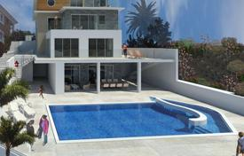 Luxury houses for sale in Agios Tychon. Four Bedroom Detached Villa with Sea View
